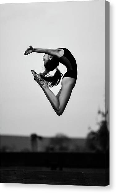 Acrobatic Canvas Print - No Limits by