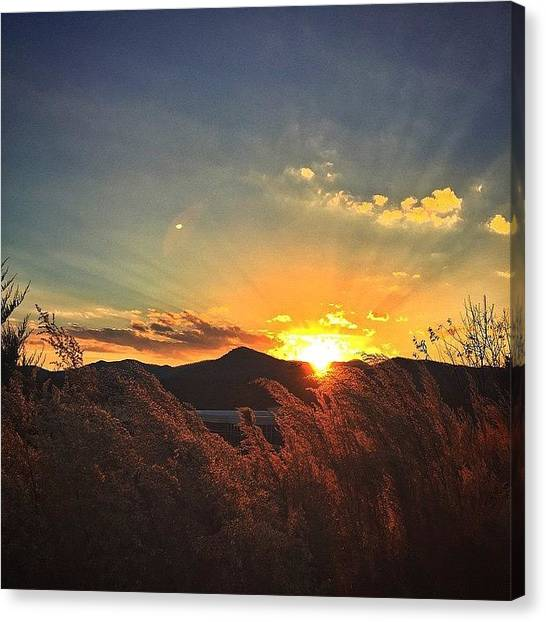 Appalachian Mountains Canvas Print - Find Me With A Smile by Simon Nauert