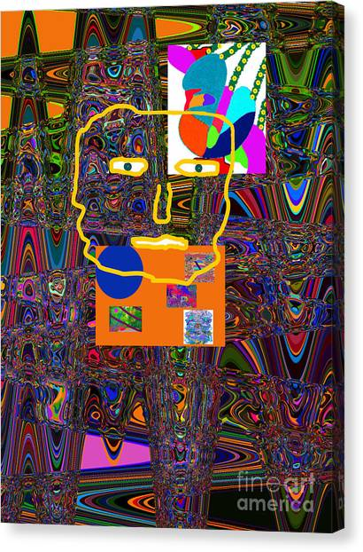 Canvas Print - no matter who I AM or where I AM or what I AM doing - I can do better  by Walter Paul Bebirian