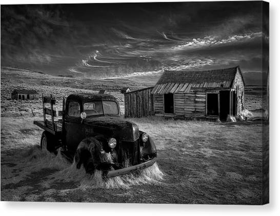 Mood Canvas Print - No More Gold... by Rob Darby
