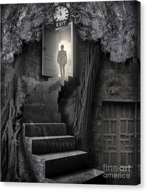 Desolation Canvas Print - No More Lies by Keith Kapple