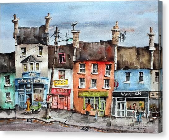 Clare  No Parking In Ireland Canvas Print