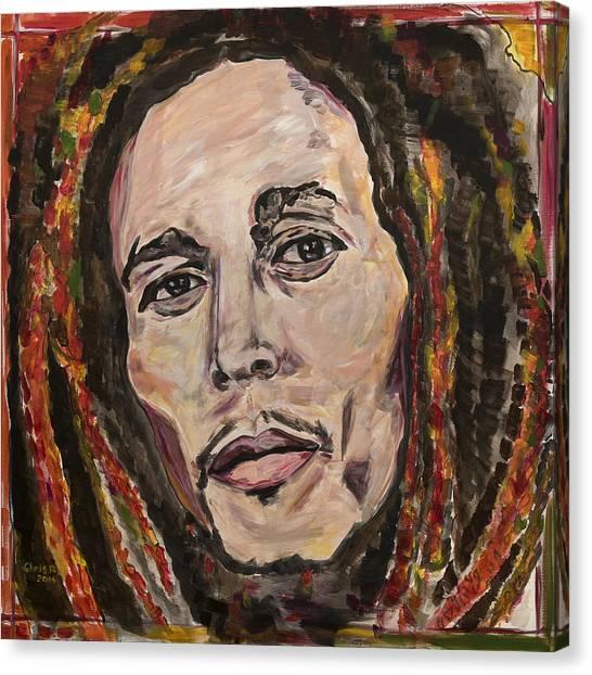 No Woman No Cry Canvas Print