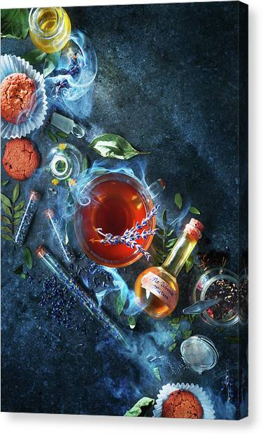 Cake Canvas Print - No Worries Mixture by Dina Belenko