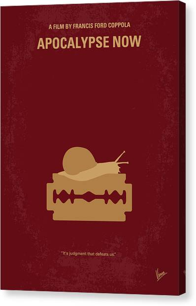 Special Forces Canvas Print - No006 My Apocalypse Now Minimal Movie Poster by Chungkong Art