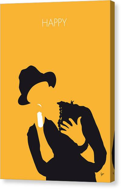 Music Inspired Art Canvas Print - No034 My Pharrell Williams Minimal Music Poster by Chungkong Art