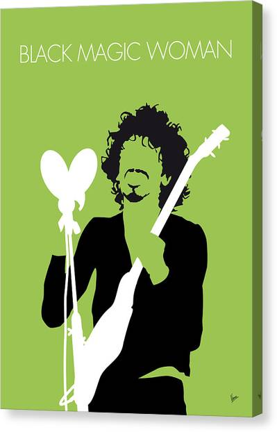 Magicians Canvas Print - No046 My Santana Minimal Music Poster by Chungkong Art