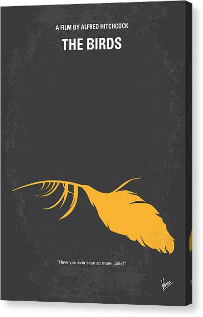 San Canvas Print - No110 My Birds Movie Poster by Chungkong Art