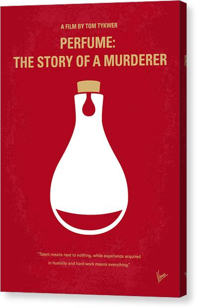 Style Canvas Print - No194 My Perfume The Story Of A Murderer Minimal Movie Poster by Chungkong Art