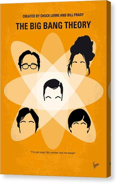 Video Games Canvas Print - No196 My The Big Bang Theory Minimal Poster by Chungkong Art