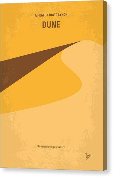 Duke University Canvas Print - No251 My Dune Minimal Movie Poster by Chungkong Art