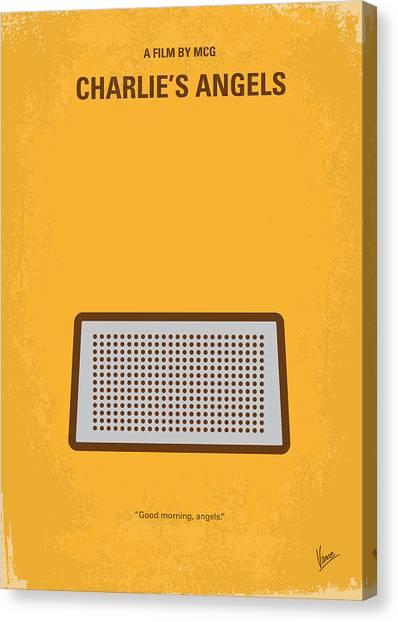 Lucy Liu Canvas Print - No273 My Charlies Angels Minimal Movie Poster by Chungkong Art