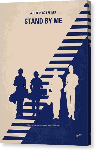 Phoenix Canvas Print - No429 My Stand By Me Minimal Movie Poster by Chungkong Art