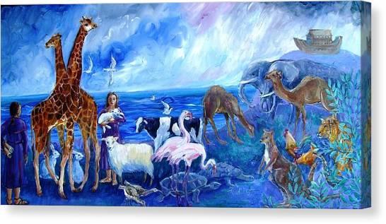 Noahs Ark - After The Flood  Canvas Print