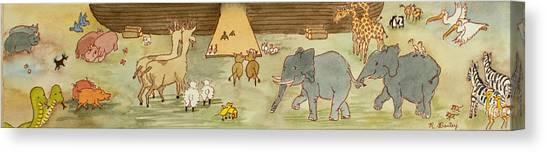Noah's Ark Canvas Print by Ruth Bailey