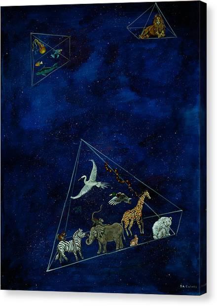Noah's Last Voyage Canvas Print
