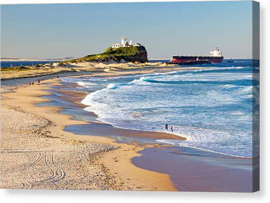 Nobby's Head 1 Canvas Print