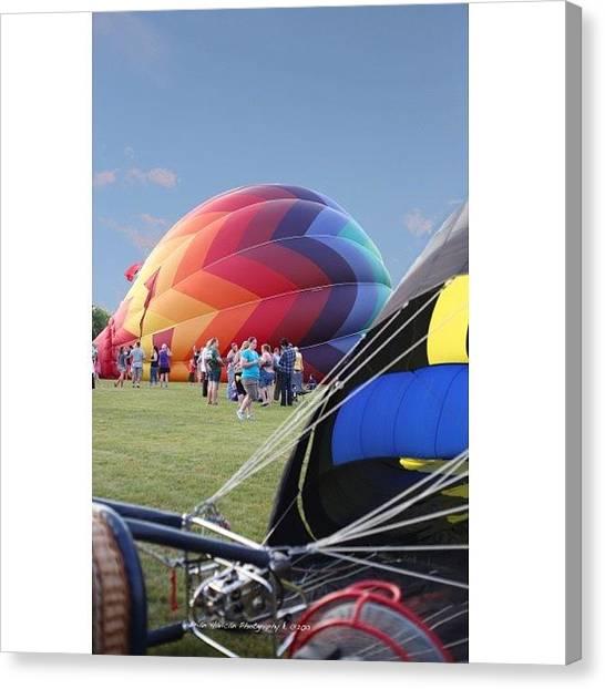 Hot Air Balloons Canvas Print - #nocrop #waterford #wi #hot #air by Brian Havican