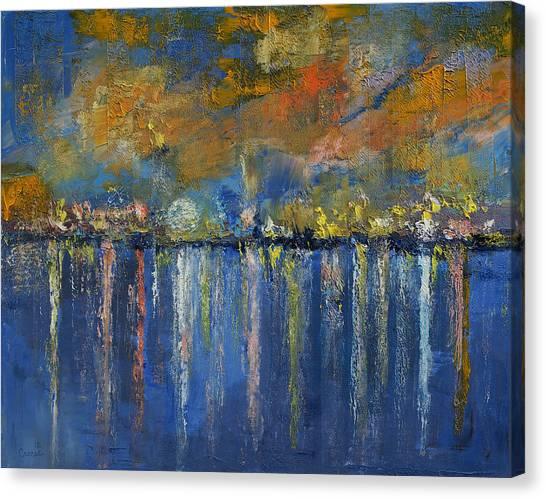 Luna Canvas Print - Nocturne by Michael Creese
