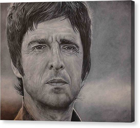 Noel Gallagher Canvas Print