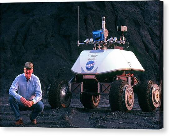 Uaa Canvas Print - Nomad Robot by Peter Menzel/science Photo Library