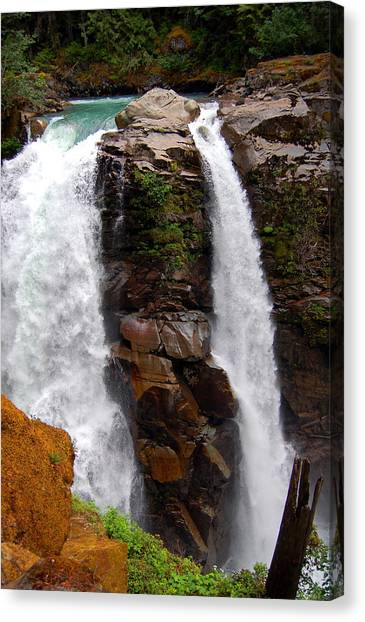Canvas Print - Nooksack Falls by Randall Templeton
