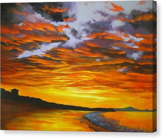 Noosa Sunset Canvas Print