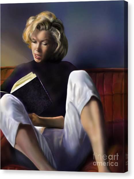 Norma Jeane Baker Canvas Print