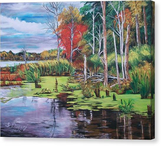 Norman Lake  Canvas Print
