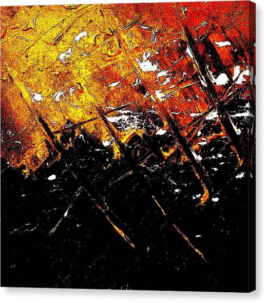 War Canvas Print - Normandy by Jason Michael Roust