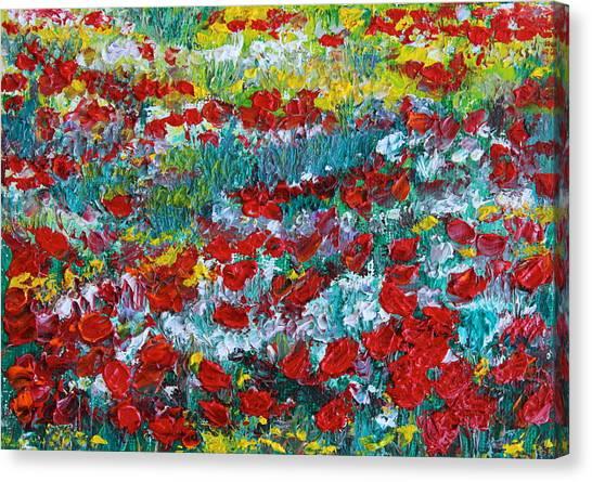 Normandy Poppy Field Dreams IIi Canvas Print