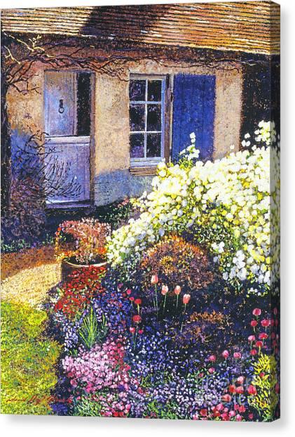 Normandy Spring Canvas Print by David Lloyd Glover