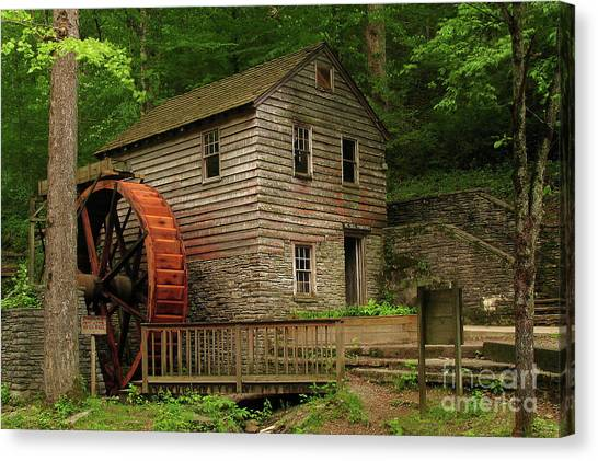 Rice Grist Mill Canvas Print