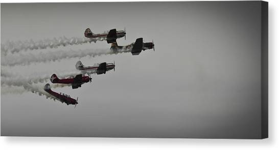 Norteast Raiders At The Greenwood Lake Airshow 2012 Canvas Print