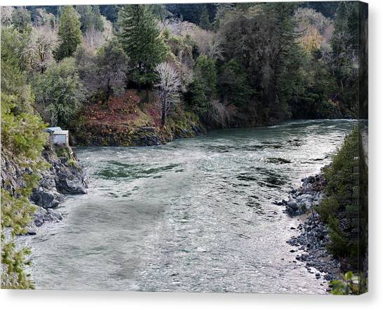 North And Middle Fork Of Smith River 2 Canvas Print