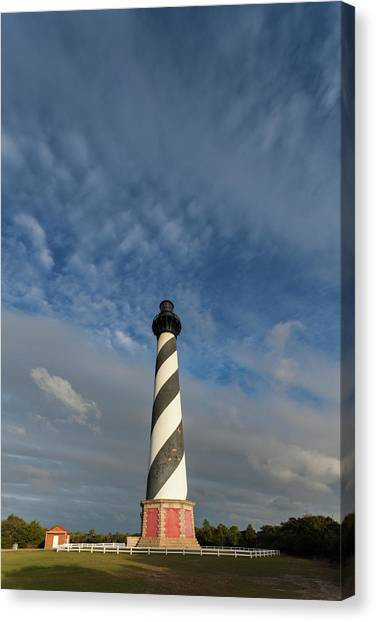 Cape Hatteras Lighthouse Canvas Print - North Carolina, Cape Hatteras National by Walter Bibikow