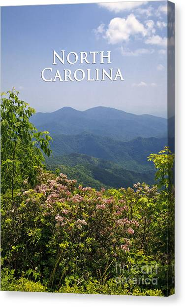 North Carolina Mountains Canvas Print