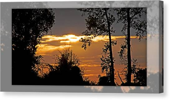 North Carolina Sunset Canvas Print