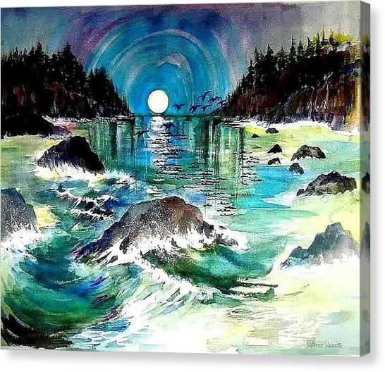 North Coast Sea Canvas Print