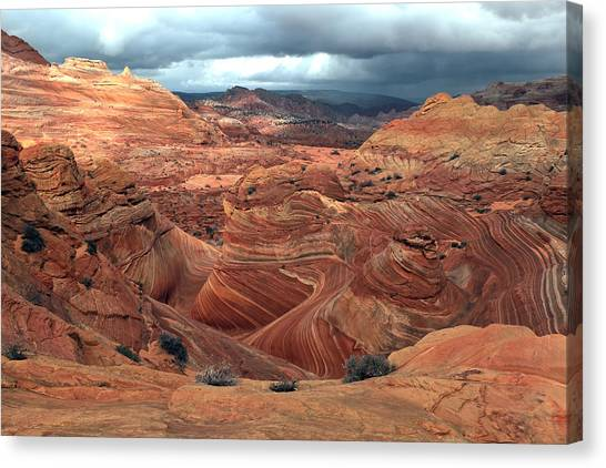 North Coyote Buttes Canvas Print