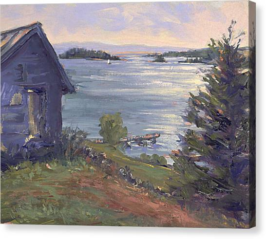 North Haven Island Morning Canvas Print
