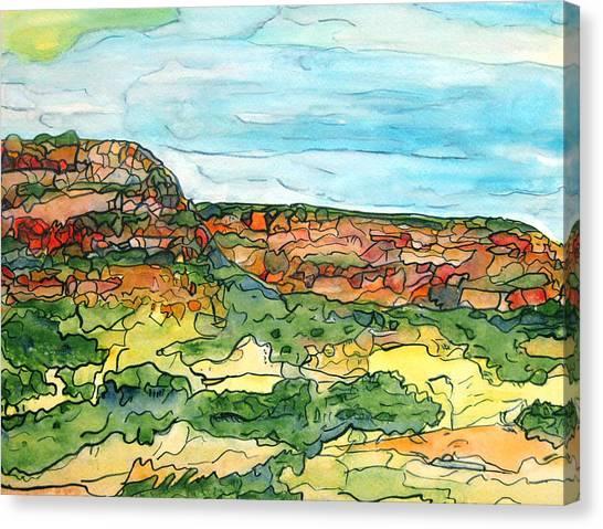 North Mesa Canvas Print