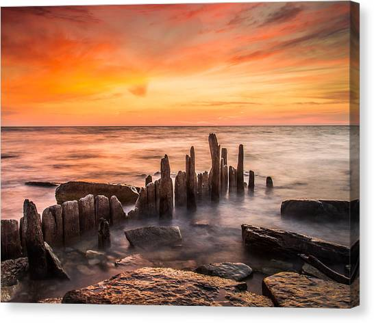 North Point Sky Canvas Print