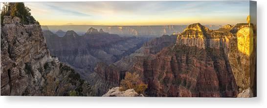 North Rim Canvas Print - North Rim Sunrise Panorama 2 - Grand Canyon National Park - Arizona by Brian Harig