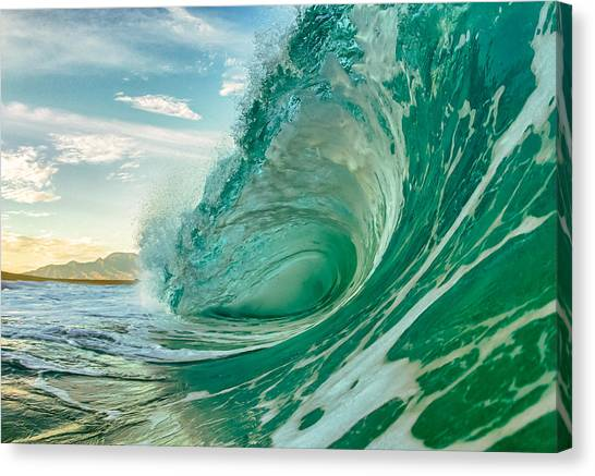 North Shore Mornings Canvas Print by Gregg  Daniels