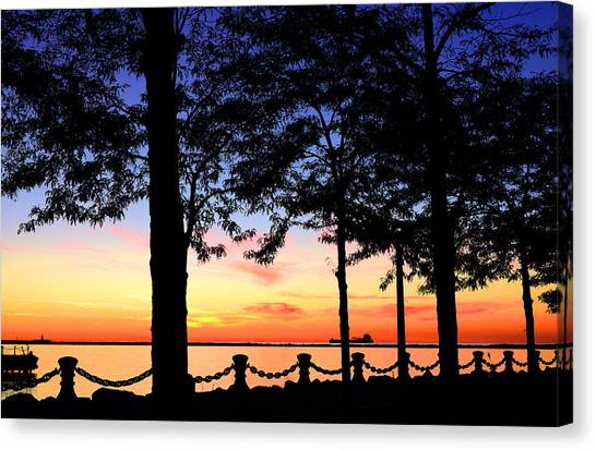 North-shore Sunset Canvas Print