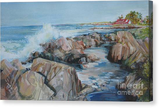 North Shore Surf Canvas Print