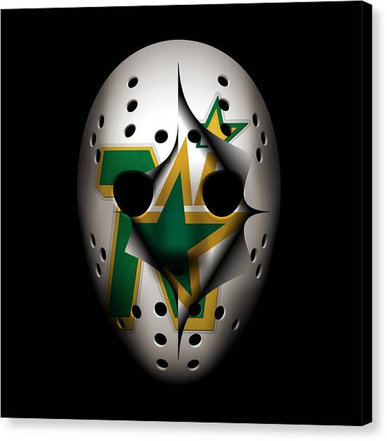 Dallas Stars Canvas Print - North Stars Become Stars by Joe Hamilton