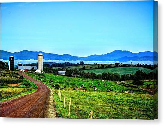 North Troy Dairy Canvas Print