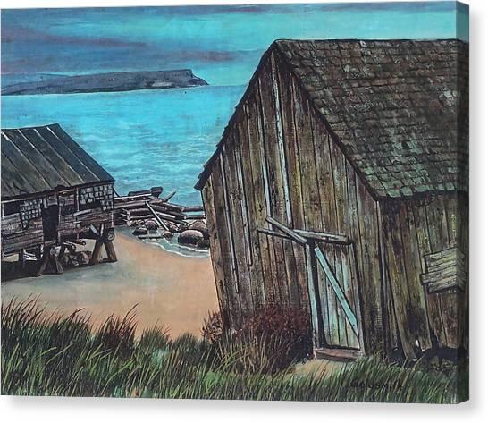 Northeast Coast Beach Canvas Print